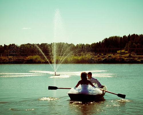 Прогулка на лодке. Свадьба в Сыктывкаре
