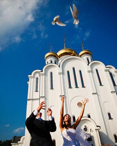 Храм. Свадьба в Сыктывкаре