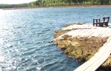 Озеро Вад. Троицко-Печорский район